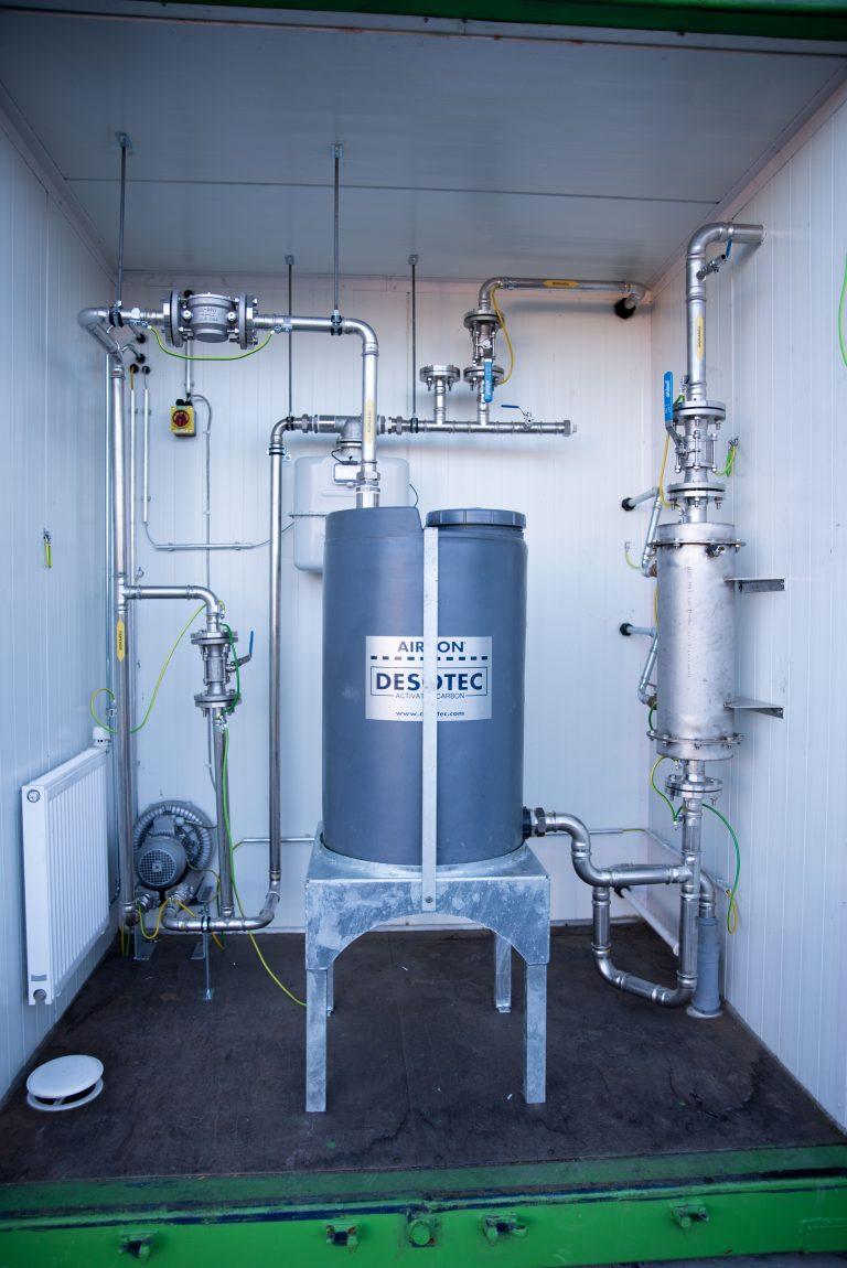 Biokaasun kuivaus ja kaasun rikastus