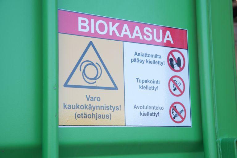 Biokaasukyltti