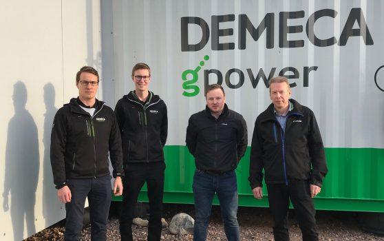 DeLaval: Toimitusjohtaja Jari Virrankoski, Tuomas Kuusinen , myyntipäällikkö Demeca: Pekka Vinkki, toimitusjohtaja, Sami Vinkki, myyntijohtaja.